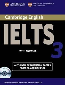 IELTS 3 PRACTICE TESTS SELF-STUDY PACK (BOOK+ANSWERS+CD)