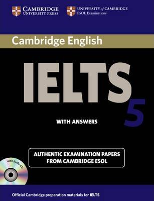 IELTS 5 PRACTICE TESTS SELF-STUDY PACK (BOOK+ANSWERS+CDS)