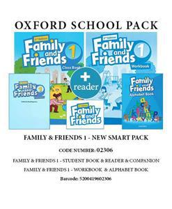 PACK FAMILY & FRIENDS 1 NEW SMART PACK - 02306
