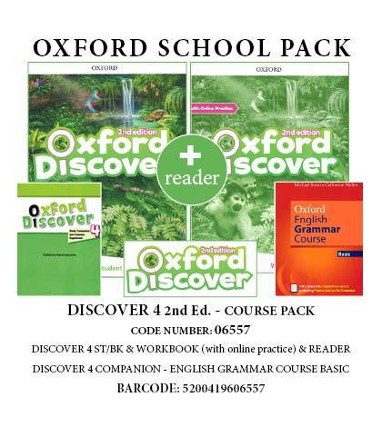 DISCOVER 4 (II ed) COURSE PACK -06557