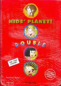 KIDS PLANET DOUBLE TCHR'S (+FUNBOOK)