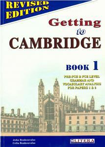 GETTING TO CAMBRIDGE 1 (REVISED) ST/BK