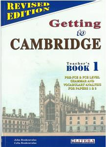 GETTING TO CAMBRIDGE 1 (REVISED) TCHR'S