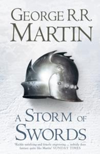 (GAME OF THRONES) SONG OF ICE FIRE STORM OF SWORDS HARDBACK