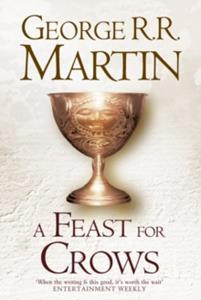 (GAME OF THRONES) FEAST FOR CROWS 4 HARDBACK