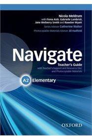 NAVIGATE A2 ELEMENTARY TCHR'S (+ TCHR'S RESOURCES DISC)