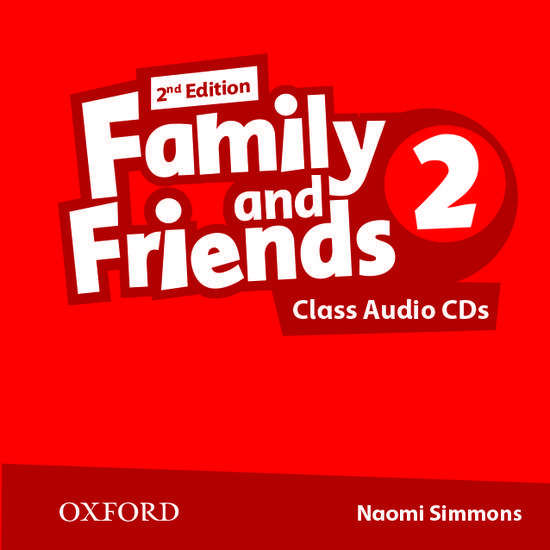 FAMILY & FRIENDS 2 2ND ED CDs