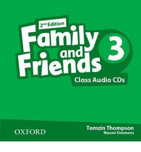 FAMILY & FRIENDS 3 2ND ED CDs