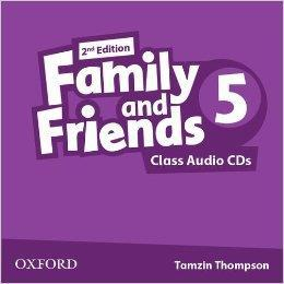 FAMILY & FRIENDS 5 2ND ED CD