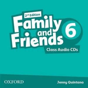 FAMILY & FRIENDS 6 2ND ED CDs