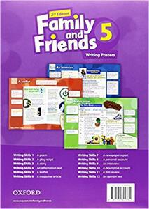 FAMILY & FRIENDS 5 2ND ED POSTERS