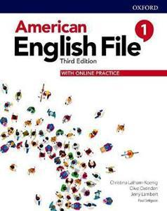 AMERICAN ENGLISH FILE 3RD 1 ST/BK (+ONLINE PRACTICE)