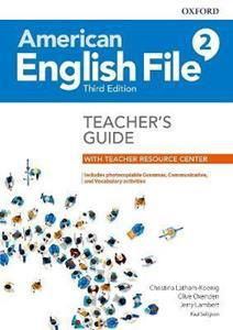 AMERICAN ENGLISH FILE 3RD 2 TCHR'S GUIDE (+TCHR RESOURCE CENTER)
