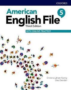 AMERICAN ENGLISH FILE 3RD 5 ST/BK (+ONLINE PRACTICE)