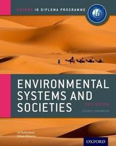 ENVIRONMENTAL SYSTEMS AND SOCIETIES 2015 COURSE