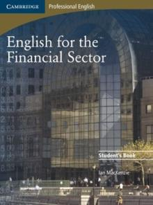 ENGLISH FOR THE FINANCIAL SECTOR ST/BK