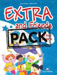 EXTRA & FRIENDS JUNIOR A ST/BK (+ALPHABET+MULTI-ROM+IEBOOK)
