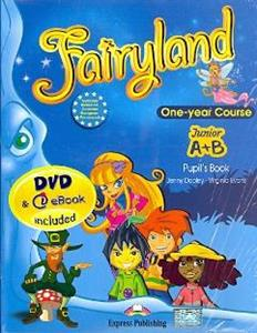FAIRYLAND JUNIOR A & B ST/BK (+ALPHABET+DVD+IEBOOK)