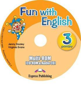 FUN WITH ENGLISH 3 PRIMARY MULTI-ROM INTERNATIONAL