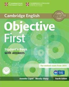 OBJECTIVE 4TH FIRST FCE ST/BK WITH ANSWERS (+CD-ROM)