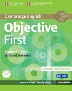 OBJECTIVE 4TH FIRST FCE ST/BK (+CD-ROM) REVISED 2015