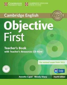 OBJECTIVE 4TH FIRST FCE TCHR'S (+CD+CD-ROM) REVISED 2015