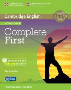 COMPLETE FIRST FCE 2ND ST/BK WO/ANSWERS (+CD-ROM)