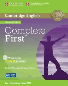 COMPLETE FIRST FCE 2ND WKBK WO/ANSWERS (+CD)