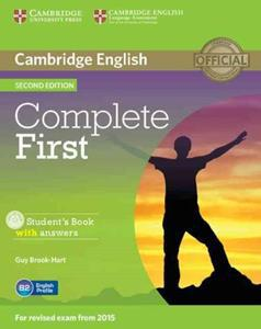 COMPLETE FIRST FCE 2ND ST/BK W/ANSWERS (+CD-ROM)