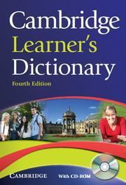 CAMBRIDGE LEARNER'S DICTIONARY(+CD-ROM) 4TH ED.