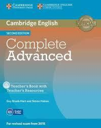 COMPLETE CAE 2ND TCHR'S (+CD-ROM)