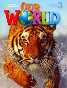 * OUR WORLD 3 ST/BK (+CD-ROM) (CENGAGE)
