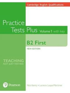 B2 FIRST PRACTICE TESTS PLUS VOLUME 1 W/ANSWERS (+ONLINE RESOURCES)