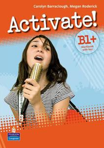 ACTIVATE B1+ (PLUS) WKBK (+KEY+CD-ROM)