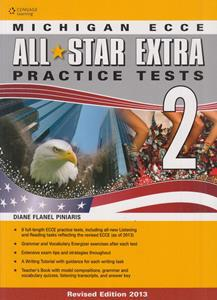 """* ALL STAR EXTRA 2 ECCE PRACTICE TESTS TCHR""""S"""