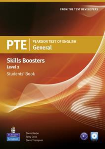 PTE GENERAL SKILLS BOOSTERS 2 ST/BK (+CD)