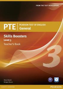PTE GENERAL SKILLS BOOSTERS 3 TCHR'S (+CDS)