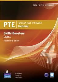 # PTE GENERAL SKILLS BOOSTERS 4 TCHR'S (+CDS)