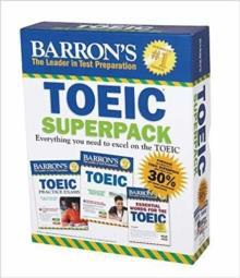 BARRON'S TOEIC SUPERPACK 2ND ED