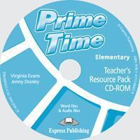 PRIME TIME ELEMENTARY TCHR'S RESOURCE PACK & TESTS CD-ROM