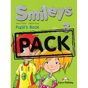 SMILES 3 ST/BK PACK (+IEBOOK+MY FIRST ABC+LET'S CELEBRATE 3)