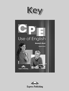 CPE USE OF ENGLISH KEY