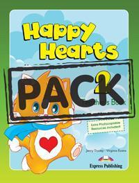 HAPPY HEARTS 2 TCHR'S MINI PACK (+MULTI ROM PAL)
