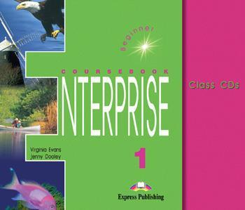 ENTERPRISE 1 BEGINNER CDS(3)