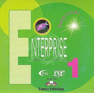 ENTERPRISE 1 BEGINNER DVD-PAL