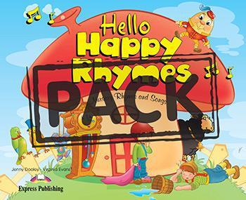HELLO HAPPY RHYMES (+CD+DVD PAL)