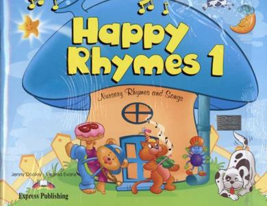 HAPPY RHYMES 1 ST/BK (+CD+DVD)