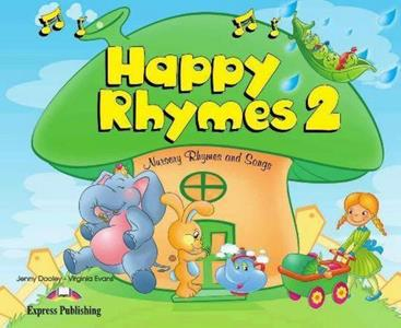 HAPPY RHYMES 2 ST/BK (+CD+DVD)