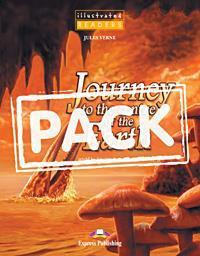 JOURNEY TO TH CENTRE OF THE EARTH (+CD+DVD) ILLUSTRATED