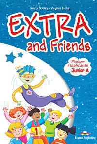 EXTRA & FRIENDS JUNIOR A FLASHCARDS